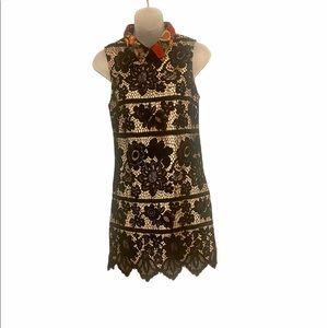 Gianni Bini embroidered mini dress